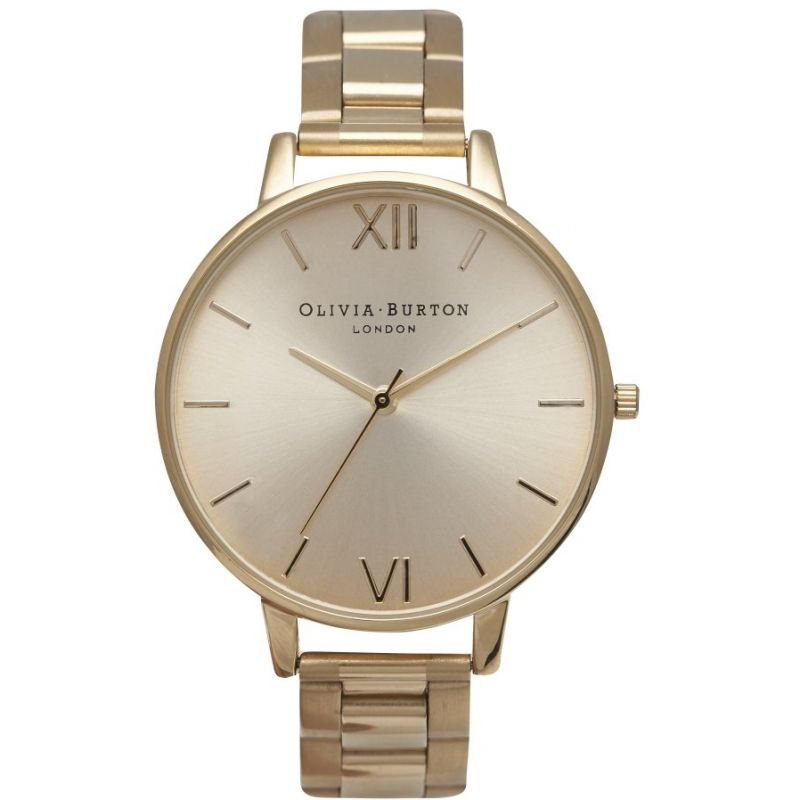 Big Dial Rose Gold & Gold Watch