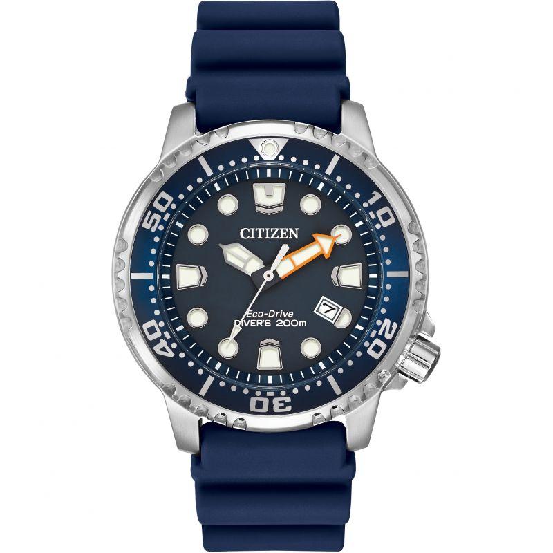 Mens Citizen Promaster Divers Watch Bn0151 09 L by Watchshop