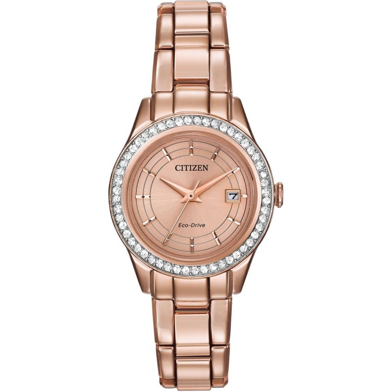 Ladies Citizen Silhouette Crystal Watch FE1123-51Q
