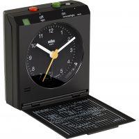 Braun Clocks BNC005 klassisch Reflex Kontrolle Travel Wecker