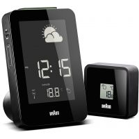 Braun Clocks Weather Station Alarm Clock Radio Controlled