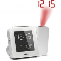 Orologio da Orologio da Braun Clocks Projection Clock BNC015WHUK-RC