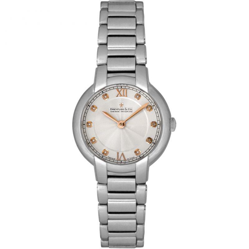 Ladies Dreyfuss Co 1974 Diamond Watch