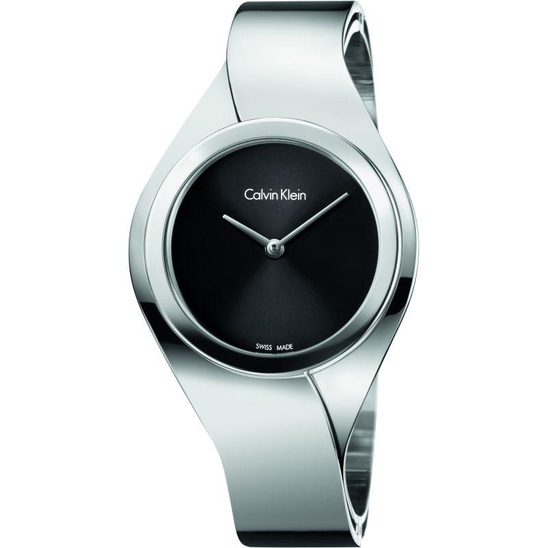 Ladies Calvin Klein Senses Small Bangle Watch