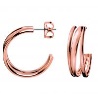 Ladies Calvin Klein PVD rose plating Sumptuous Earrings KJ2GPE100100