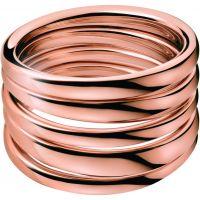 Damen Calvin Klein PVD Rosa plating Größe O Sumptuous Ring