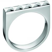 Ladies Calvin Klein Stainless Steel Size O Edge Ring KJ3CMR000107