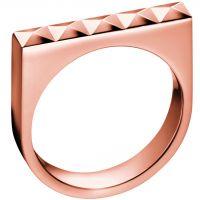 femme Calvin Klein Jewellery Edge Ring Watch KJ3CPR100106