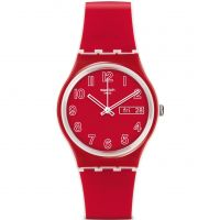 unisexe Swatch Original Gent - Poppy Field Watch GW705