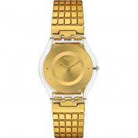 Swatch Skins - Golden Lips S Damklocka Guld SFK394GB