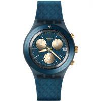 Unisex Swatch Irony Diaphane - Ardoise Chronograph Watch SVCN4006