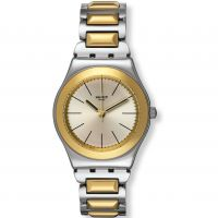 femme Swatch Irony Medium - Bicartridge Watch YLS181G