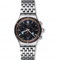 Herren Swatch Irony Chrono - Destination Madrid Chronograph Watch YVS419G