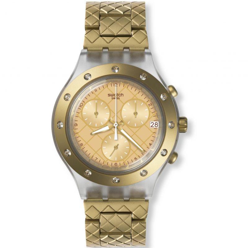 Ladies Swatch Waffelraffel Chronograph Watch