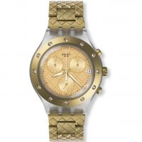 Damen Swatch Waffelraffel Chronograph Watch SVCK4082AG