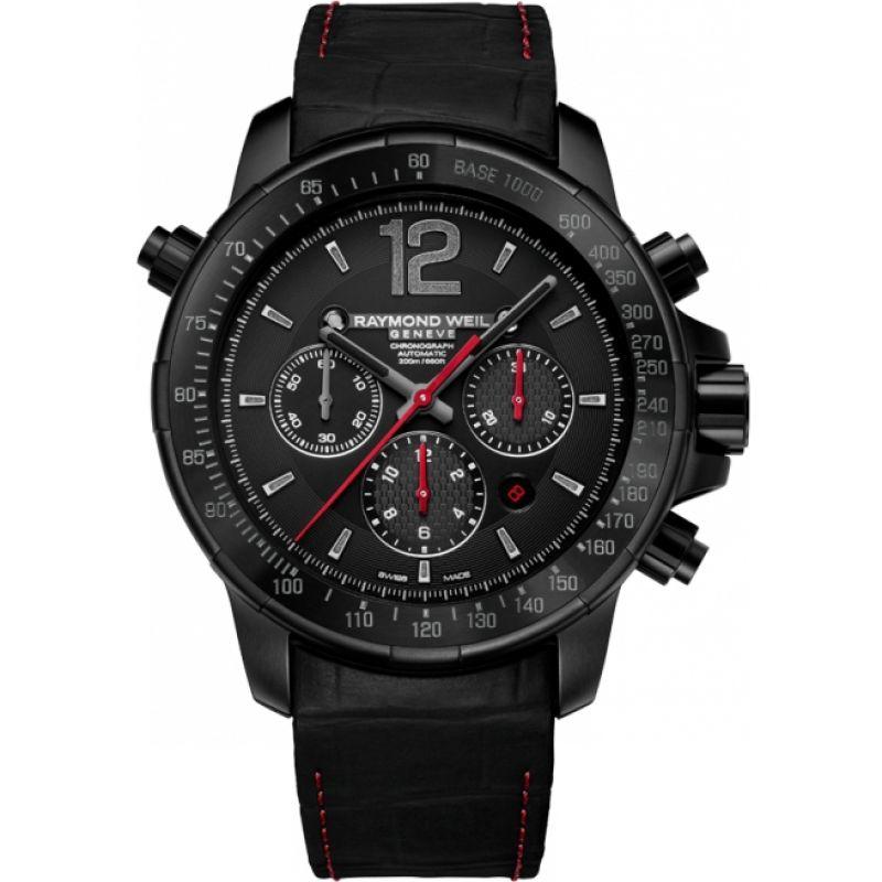 Mens Raymond Weil Nabucco Rivoluzione II Automatic Chronograph Watch