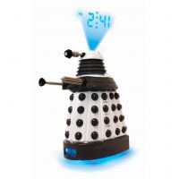 Character Dr Who Dalek Projection Klokhorloge Wit DR105
