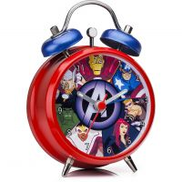 Character Marvel Avengers Mini Twinbell Red Kinderenhorloge Rood MAR20