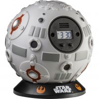 Character Star Wars Off The Wall Klokhorloge Grijs STAR143