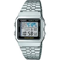 unisexe Casio Classic Alarm Chronograph Watch A500WEA-1EF