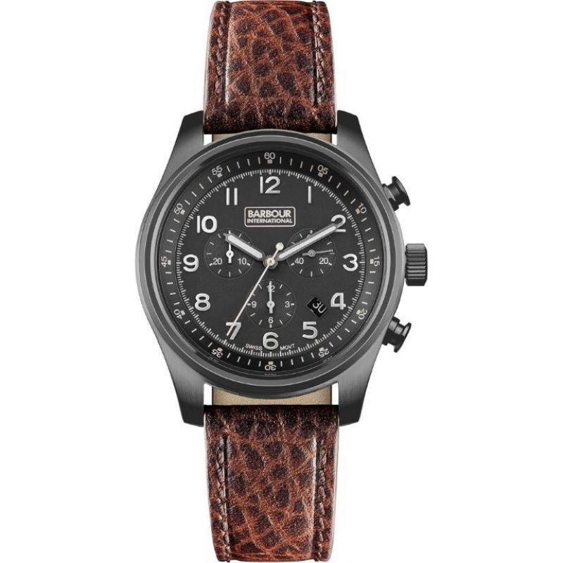 Mens Barbour Byker Chronograph Watch