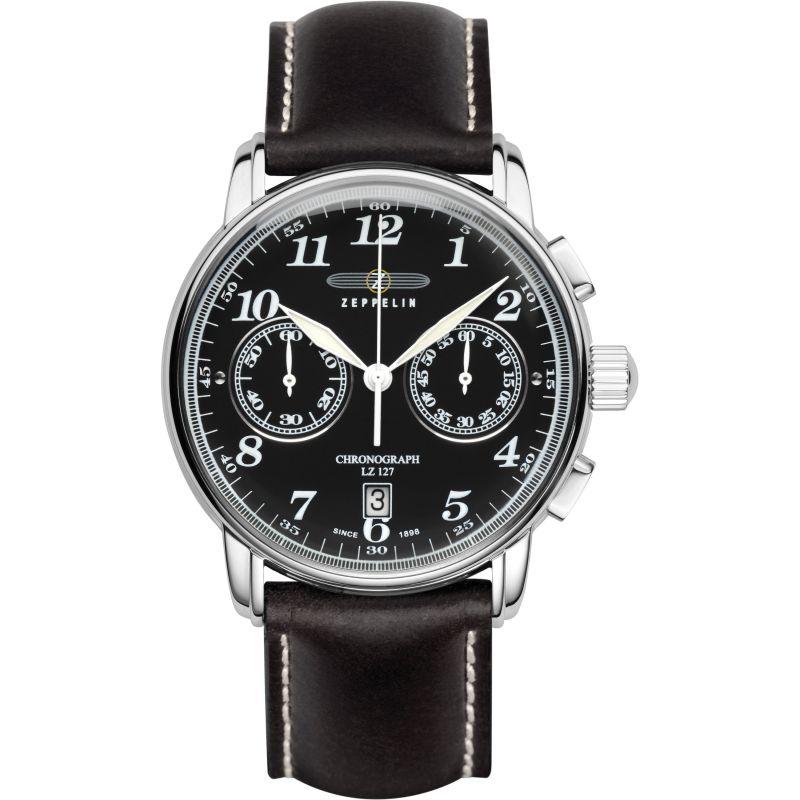 Mens Zeppelin LZ127 Graf Zeppelin Chronograph Watch