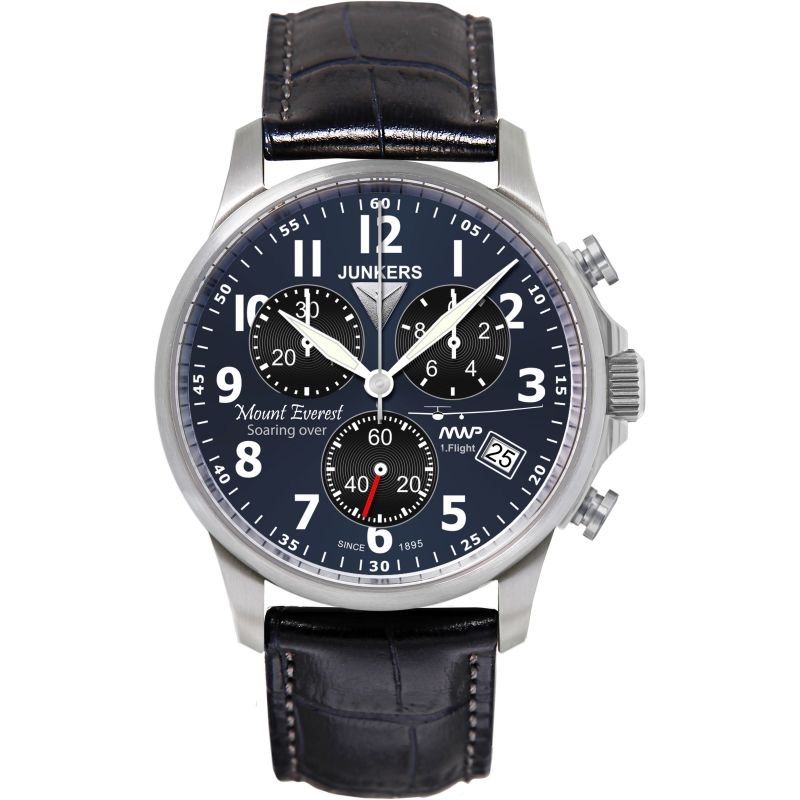 Mens Junkers Mountain Wave Project Chronograph Watch