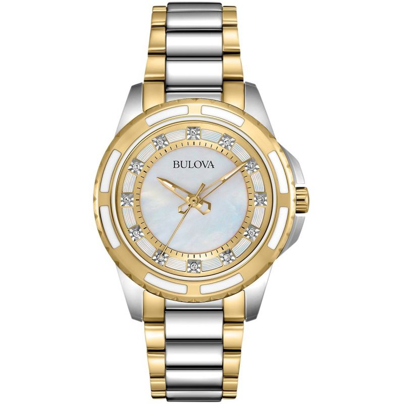 Ladies Bulova Diamond Gallery Diamond Watch 98P140