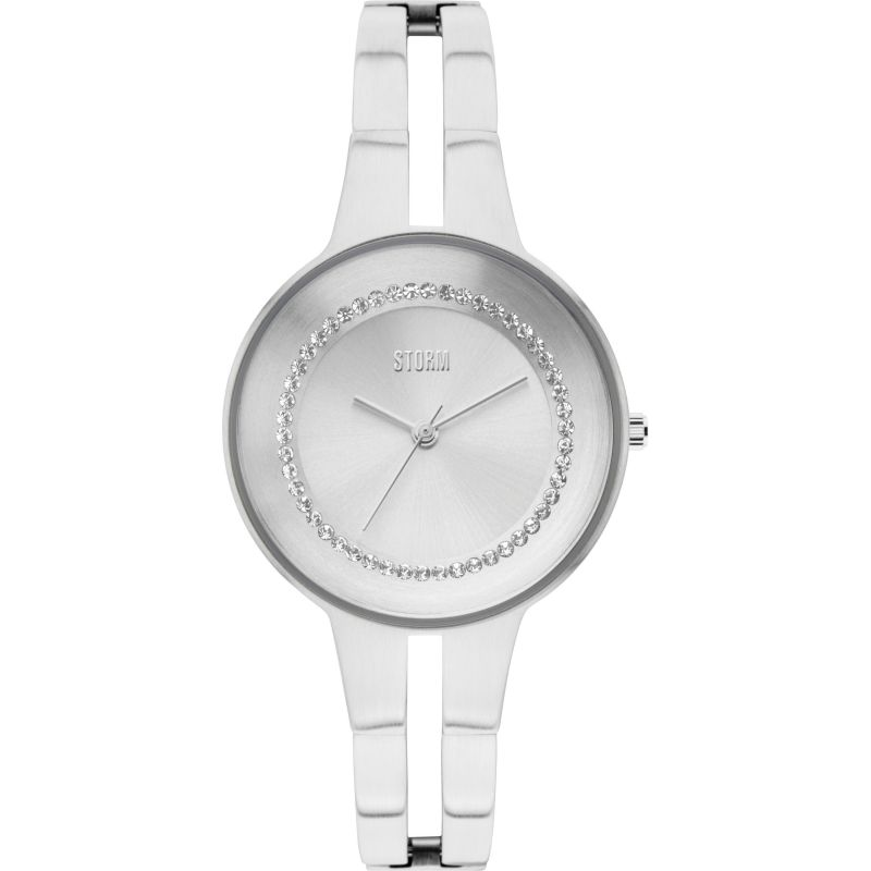 Ladies STORM Rizzy Crystal Watch RIZZY-CRYSTAL-SILVER