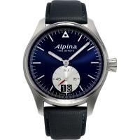Herren Alpina Startimer Pilot Big Datum Uhr