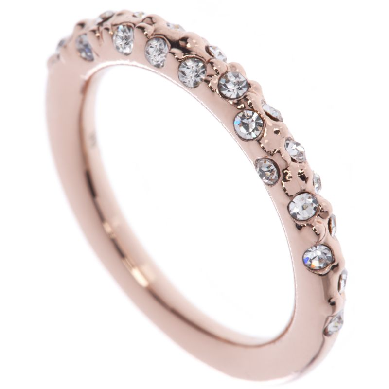 Ladies Karen Millen Crystal Sprinkle Ring Small KMJ607-24-02S
