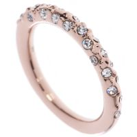 Ladies Karen Millen Crystal Sprinkle Ring Large