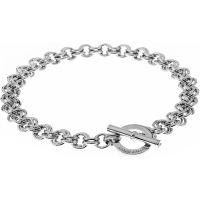 Ladies Karen Millen Encrusted Bar & Hoop Bracelet KMJ041-01-02