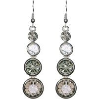 Karen Millen Jewellery Swarovski TearEarrings JEWEL