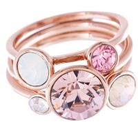 Ladies Ted Baker Jackie Jewel Stack Ring Sm