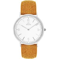 Birline Bickley Silver Unisexklocka Orange BIR002109