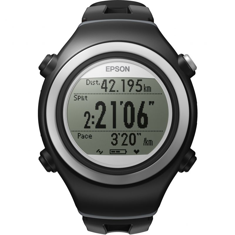 Unisex Epson Runsense SF-510F GPS Bluetooth Smart Alarm Chronograph Watch
