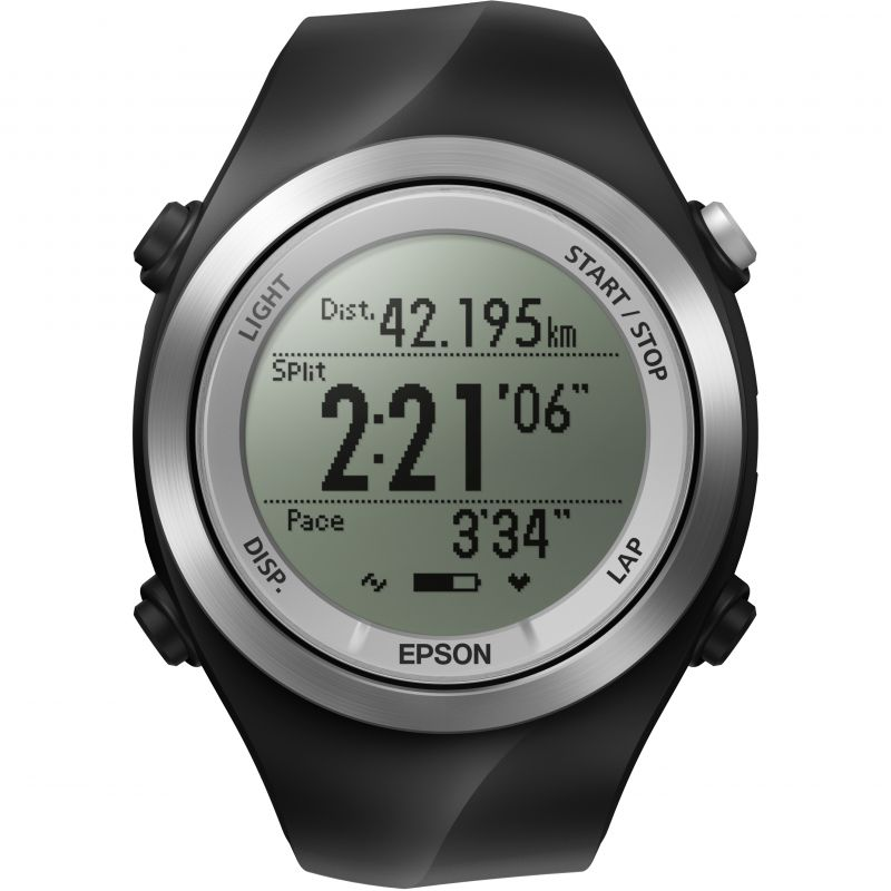 Unisex Epson Runsense SF-710S GPS Bluetooth Smart Alarm Chronograph Watch