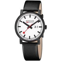 Mondaine Swiss Railways Evo Big Date Herenhorloge Zwart A6273030361SBB