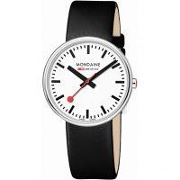 Herren Mondaine Swiss Railways Mini Giant Watch A7633036211SBB