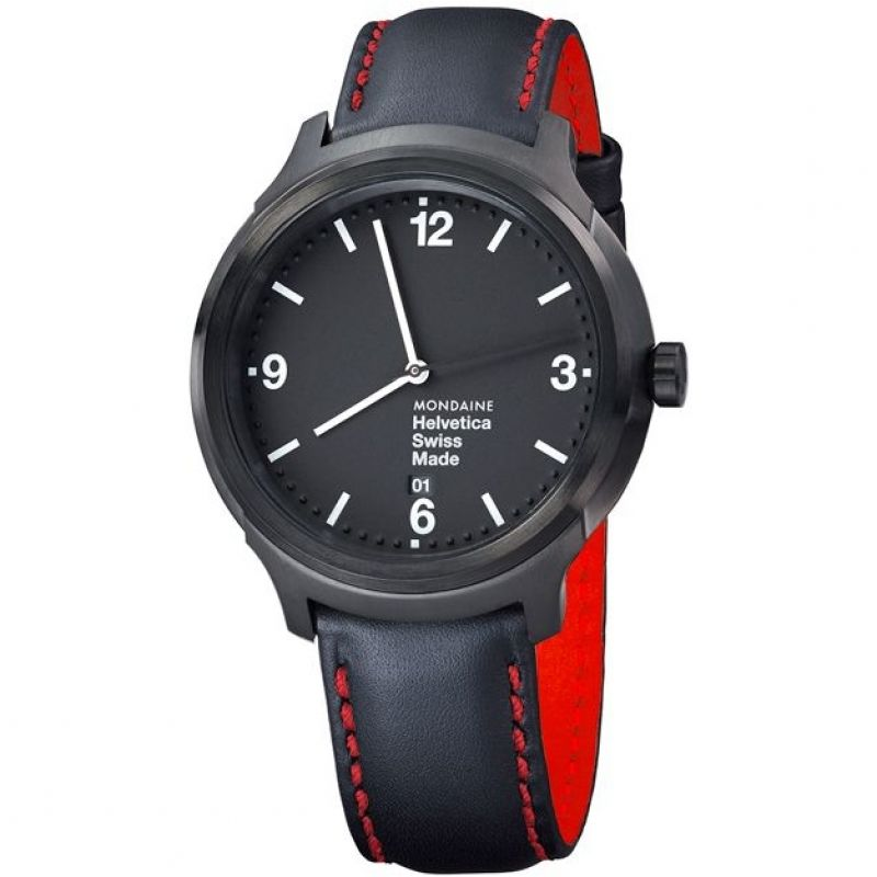 Mens Mondaine Helvetica No1 Bold Watch