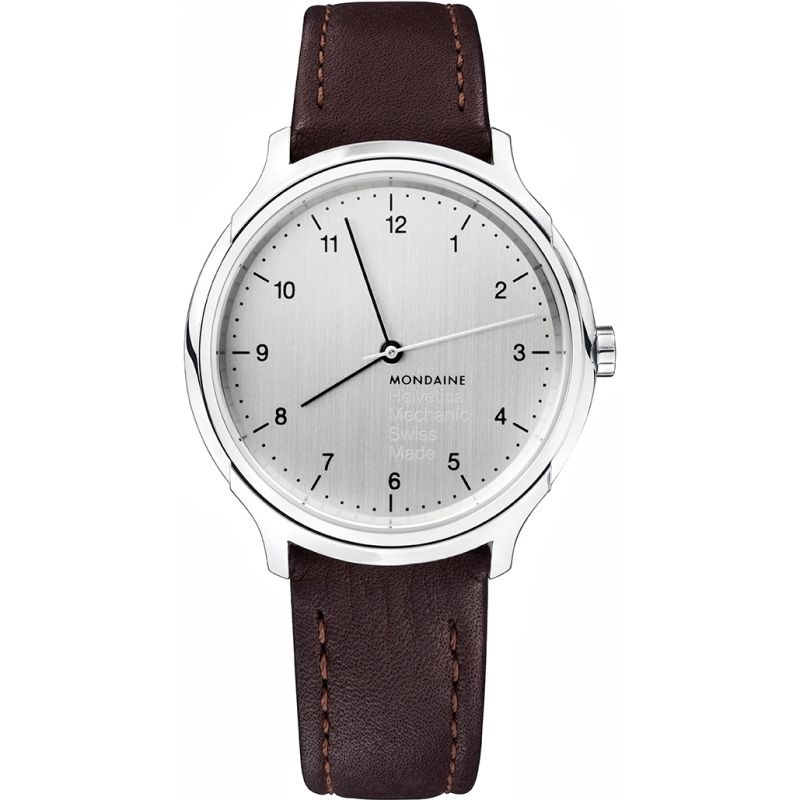 Mens Mondaine Helvetica No1 Regular Mechanical Watch
