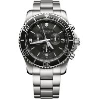 homme Victorinox Swiss Army New Maverick Chronograph Watch 241695
