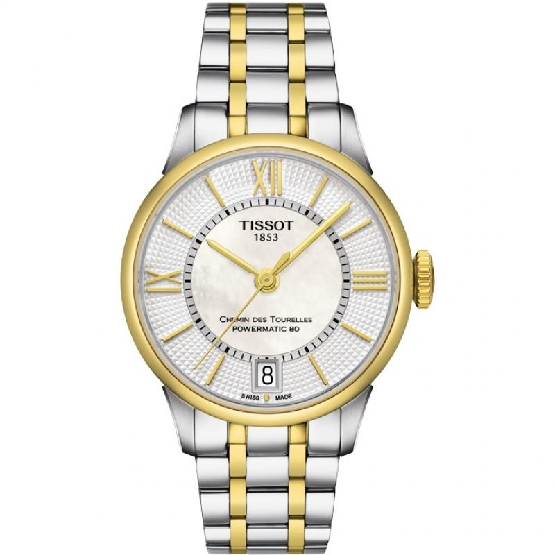 Damen Tissot Chemin Des Tourelles Watch T0992072211800