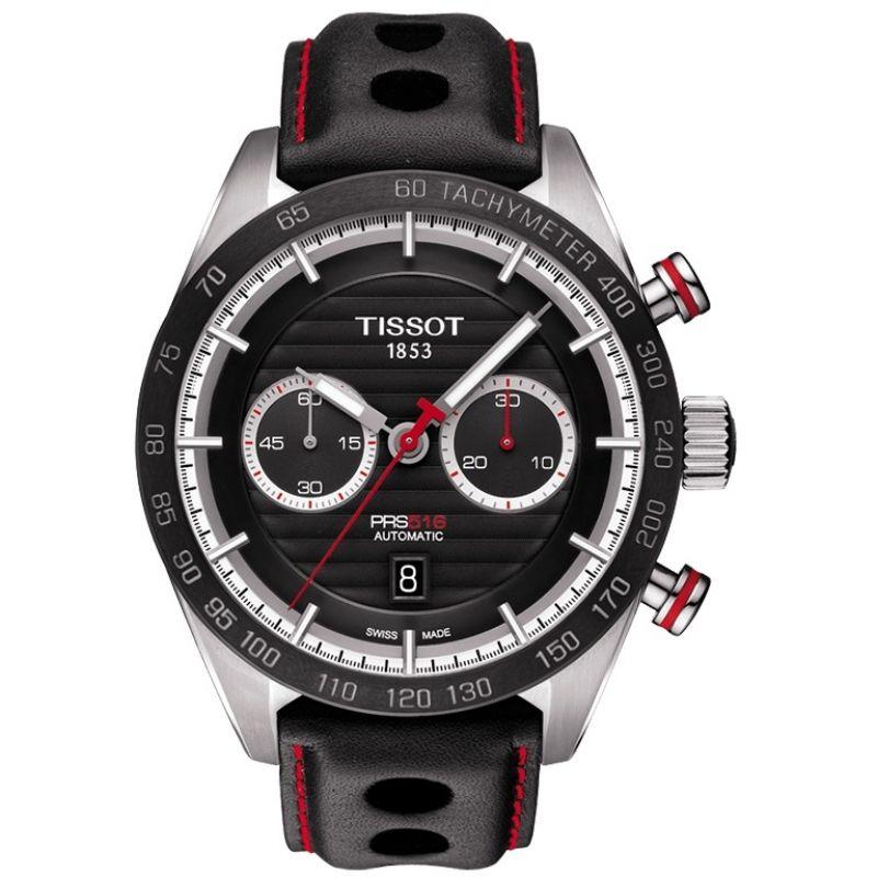 Mens Tissot PRS 516 Automatic Chronograph Watch