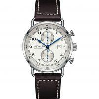 Herren Hamilton Khaki Navy Pioneer Automatik Chronograf Uhr