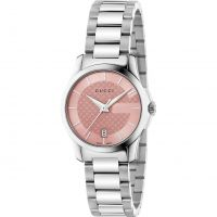Gucci G-Timeless 27mm Dameshorloge Zilver YA126524