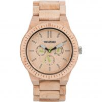 Mens Wewood Kappa Beige Watch