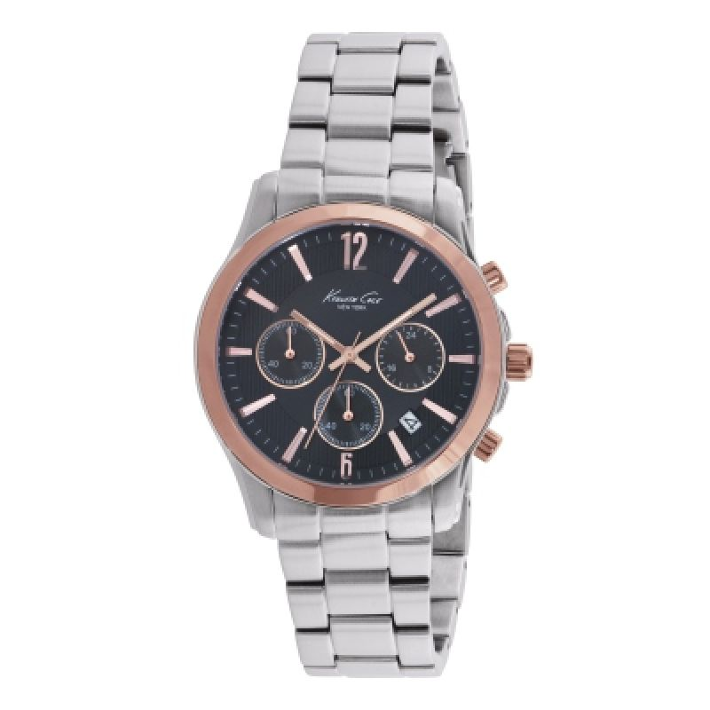 Kenneth Cole Herrkronograf Silver KC10021829