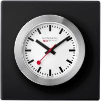 Zegarek zegar Mondaine Swiss Railways Desk Clock A6603031884SBB